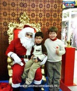 Contratar la visita de Papá Noel