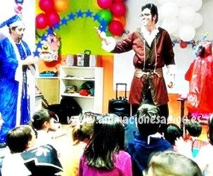 Magos para fiestas en España