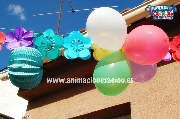 Decoraciones de fiestas infantiles en España