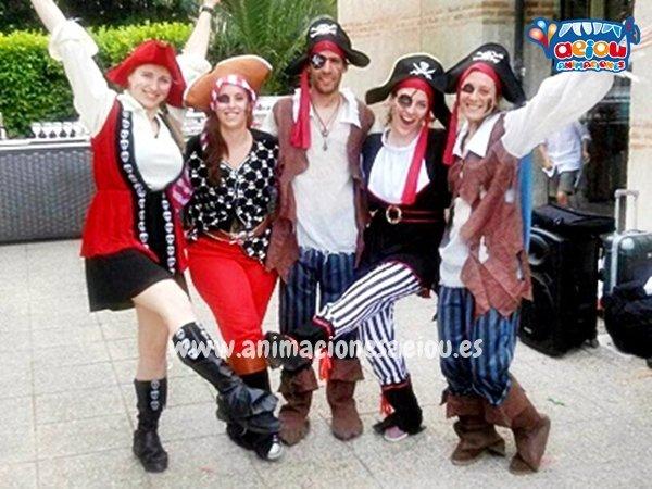 fiestas temáticas de piratas en España