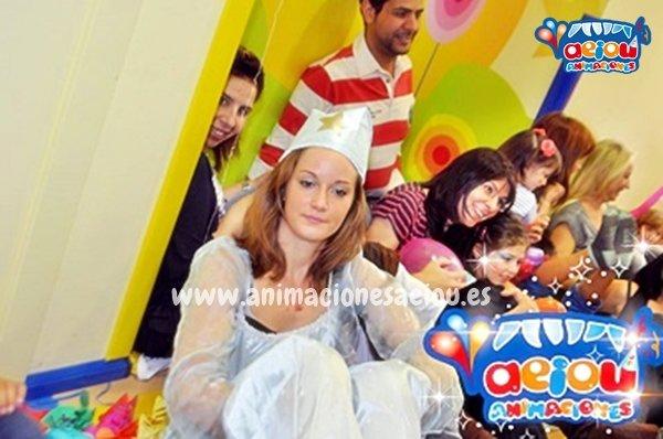 Fiestas de cumpleaños infantiles temáticas de princesas